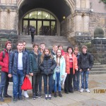 Перед  Дрезденським технічним університетом