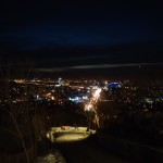 Нічний Алмати з гори Кок-Тобе